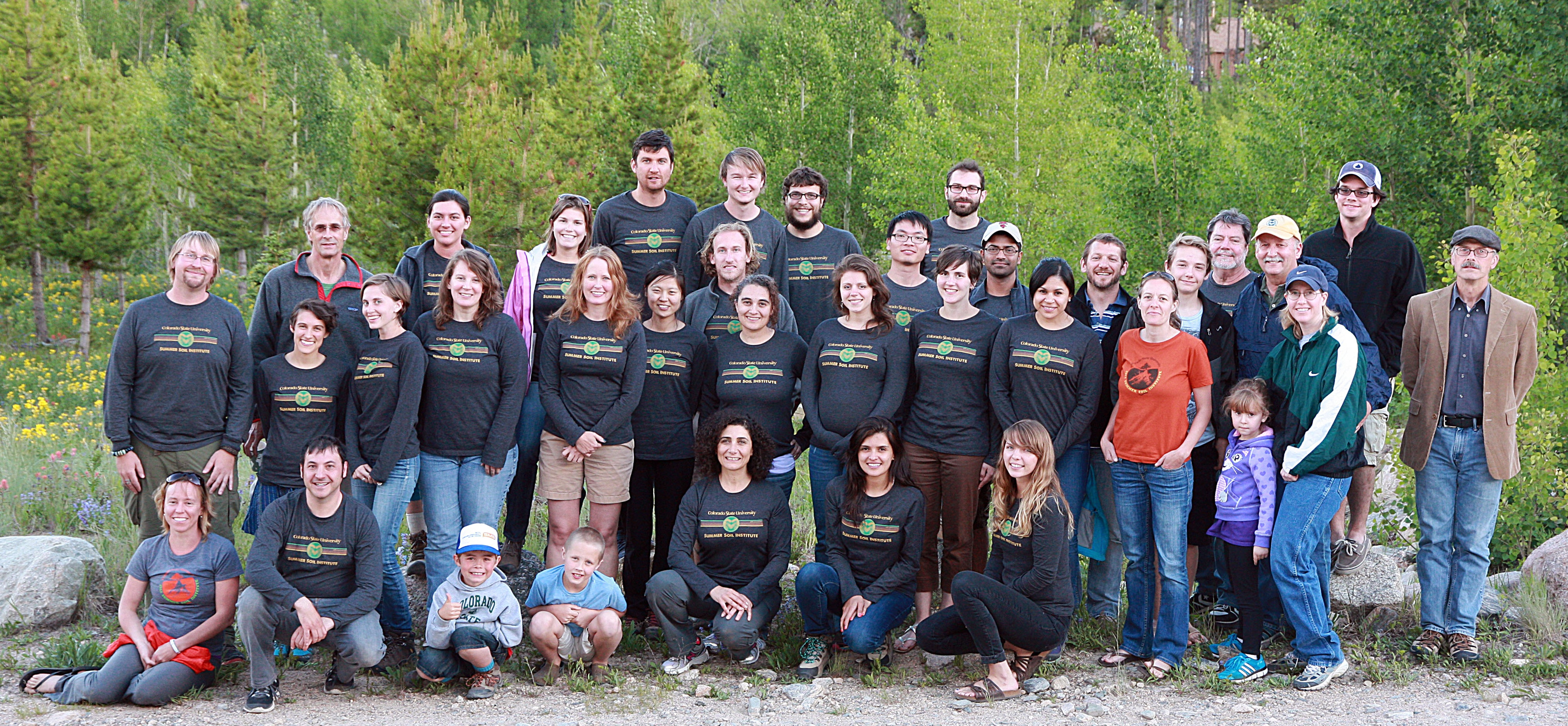 2014 Summer Soil Participants